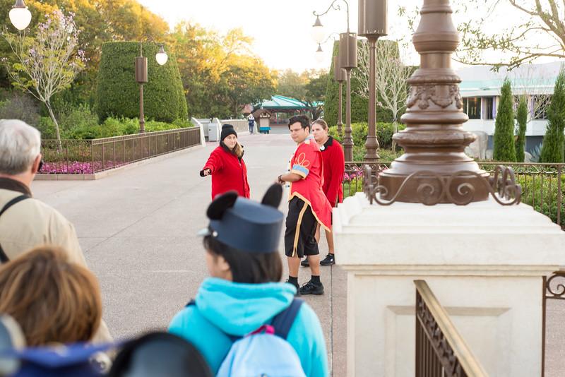 Headed to Seven Dwarfs Mine Train - Magic Kingdom Walt Disney World