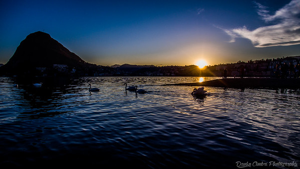 Lugano's Lake