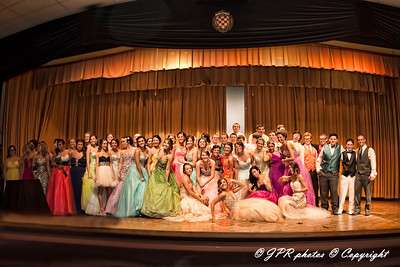 2014 NHS Prom Fashion Show & Rehearsal