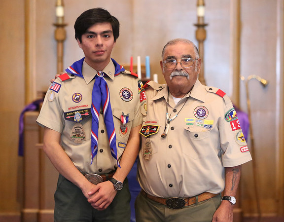Eagle Scout Ceremony for Robert Mancha