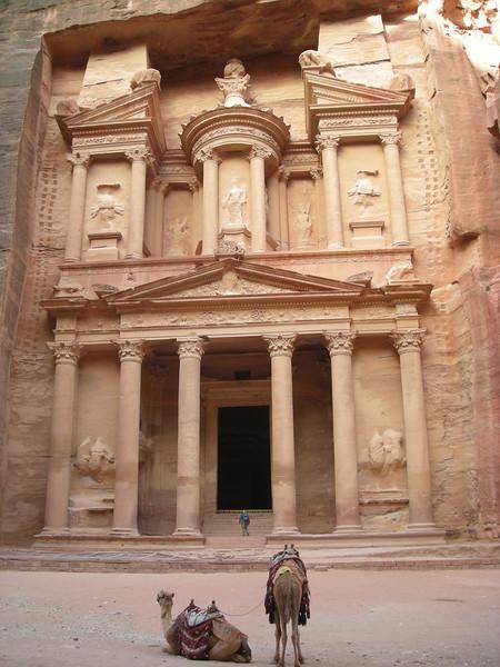 """The """"Treasury"""" building at Petra, Jordan"""