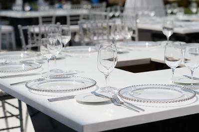 HYATT Regency LAX Wedding Setup