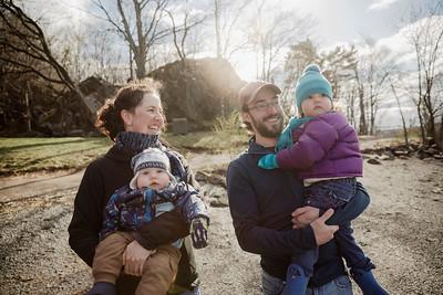 MC, Éric, Florence et Antoine