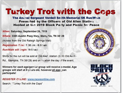 Turkey Trot With The Cops 2019