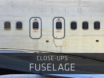 Close-ups – Fuselage