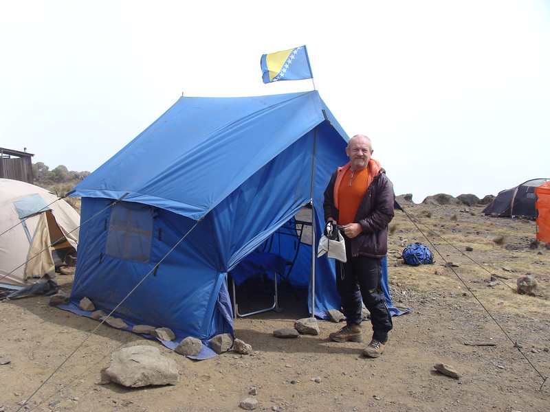 New Shira Camp - 3845 m
