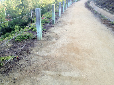 Turtle Ridge DG Path Inspection
