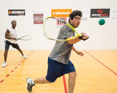 Men's Singles A 16s Francis Anum over Rene Cabrera