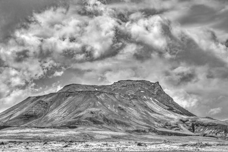 Vestrahorn    Black & White Photography by Wayne Heim