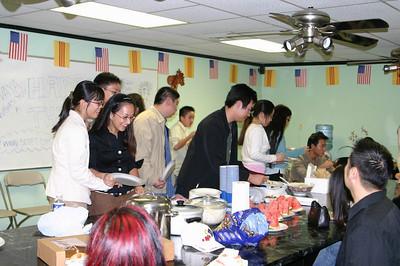 Thanksgiving Dinner 2005