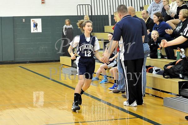 HGA vs St. Ignatius Girls 7 & 8th grade Girls Basketball 2012 - 2013