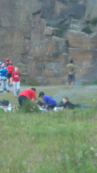 Climbing Scouts July 2011