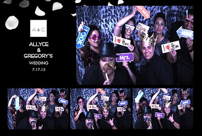 Allyce & Gregory's Wedding (Slow Motion Photo Booth)