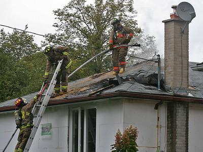 October 2, 2010 - 2nd Alarm - 27 Alhart Dr.