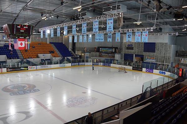 Coventry Blaze NIHL V's Solway Sharks