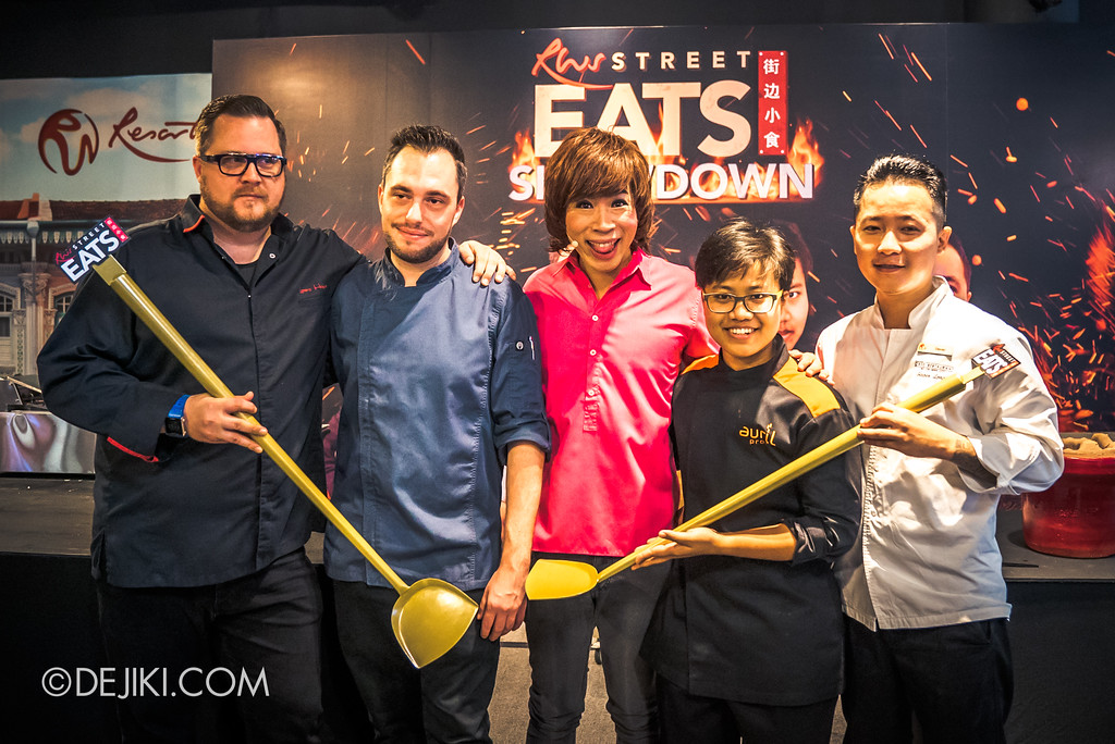 Resorts World Sentosa - RWS Street Eats Showdown - Chefs with Chua En Lai as Pornsak Sukhumvit