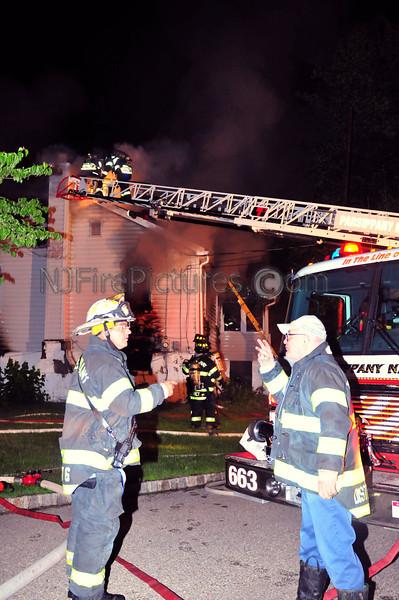 PARSIPPANY, NJ HOUSE FIRE 249 JACKSONVILLE DR. JUNE 11, 2009