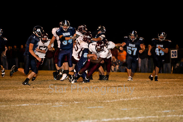 HHS VS HVHS Football 10-22-10