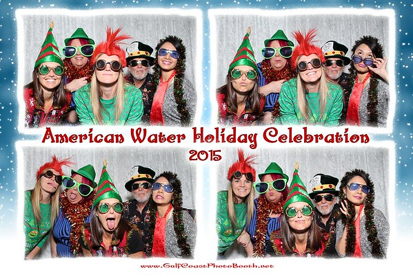 American Water 2015 Christmas Photo Booth Prints