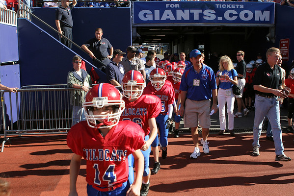 Wildcats at Giant Stadium: On the Field