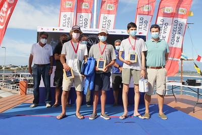 🥇  Reparto de premios Campeonato Ibérico ILCA Trofeo Concello De Vigo