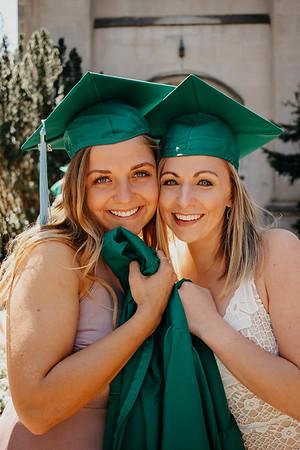 Breanna and Megan