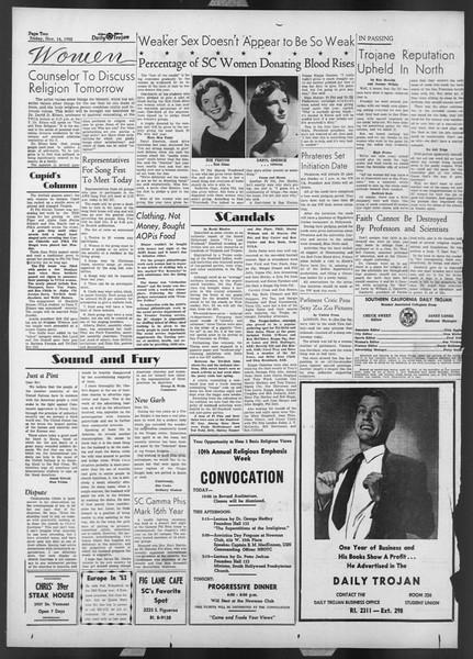 Daily Trojan, Vol. 44, No. 41, November 11, 1952