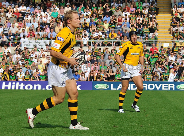 Northampton Saints vs London Wasps, Guinness Premiership, Franklin's Gardens, 20 September, 2008