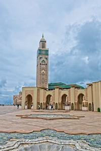 Hassan II Mosque, Casablanca, Morocco 2018