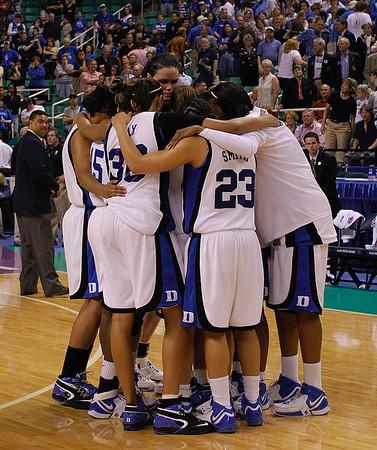 03/24/07 - NCAA Women's Tournament: Duke Blue Devils vs Rutgers