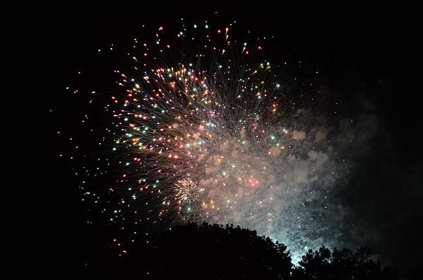 Fireworks - Westfield - July 2, 2017