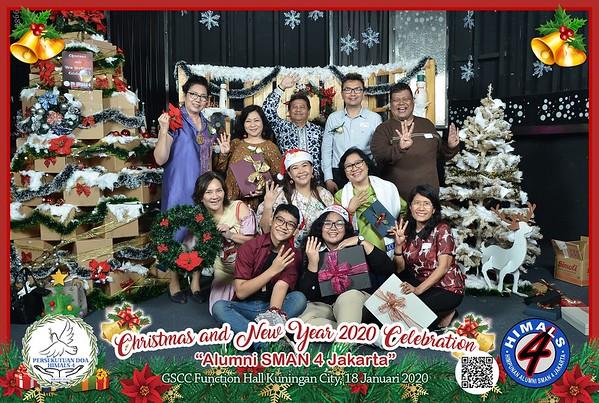 200118 | Christmas & New Year 2020 Alumni SMAN 4 Jakarta