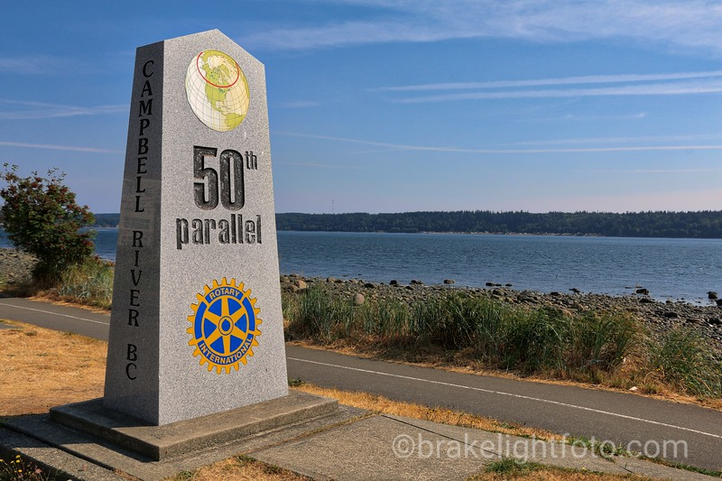50th Parallel Marker