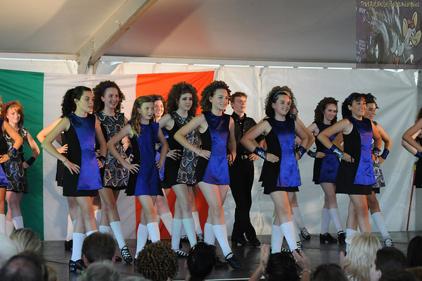St Paul Irish Dancers at Irish Fair 2010 - August 14, 2010