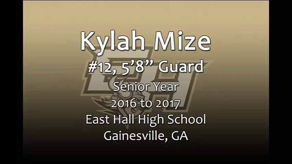 Kylah Mize 2016-17 EH Senior video