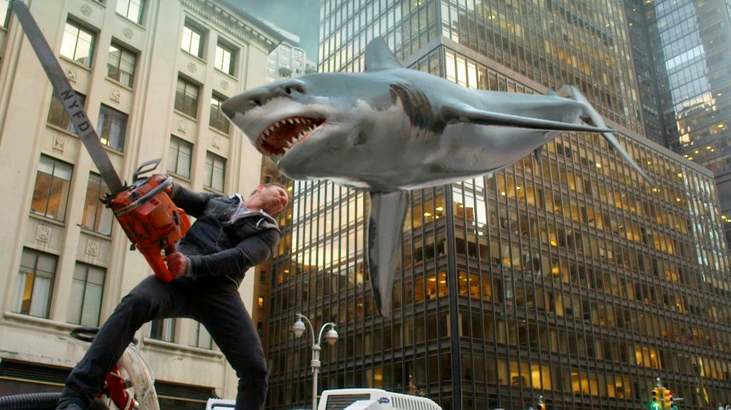 ". 10. (tie) �SHARKNADO 2� <p> Going in, you knew it was going to be crap � kind of like the Twins� last four seasons. (previous ranking: unranked) </p><p><b><a href=""http://time.com/3060225/sharknado-2-recap-best-worst-moments/\"" target=\""_blank\""> LINK</a></b> </p><p>   (AP Photo/Syfy)</p>"