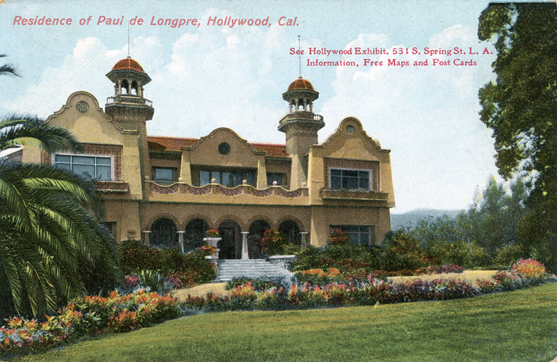Residence of Paul de Longpre