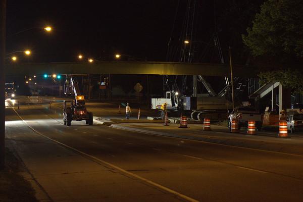 Eisenhower bridge removal