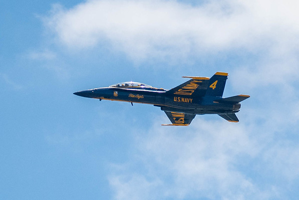 America Strong Blue Angels Fly By - Covid 19