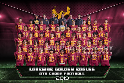 Lakeside Jr High Football- 8th Grade