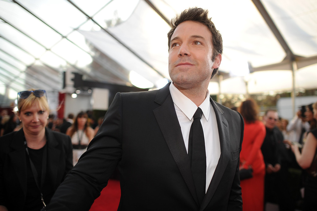 . Ben Affleck on the red carpet at the 20th Annual Screen Actors Guild Awards  at the Shrine Auditorium in Los Angeles, California on Saturday January 18, 2014 (Photo by Hans Gutknecht / Los Angeles Daily News)