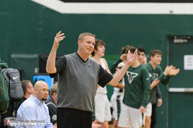 THS Boys Varsity Basketball vs West Linn