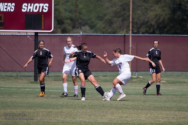 TLU @ SU Soccer Women 2012