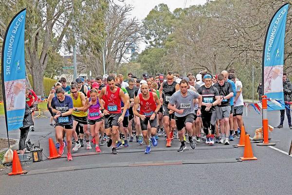 Sri Chinmoy 2018 Yarra Boulevard September Half-Marathon
