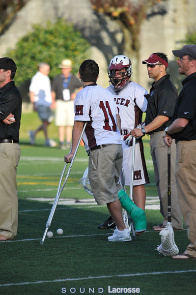 5/30: D1 Championship Game, Mercer Island vs. Issaquah, by Dave West & Michael Jardine