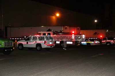 Forklift fire 7/10/12