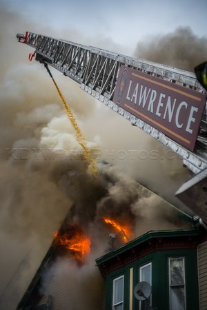 3 Alarm Structure Fire - 109-111 E Haverhill St, Lawrence, MA - 11/29/16