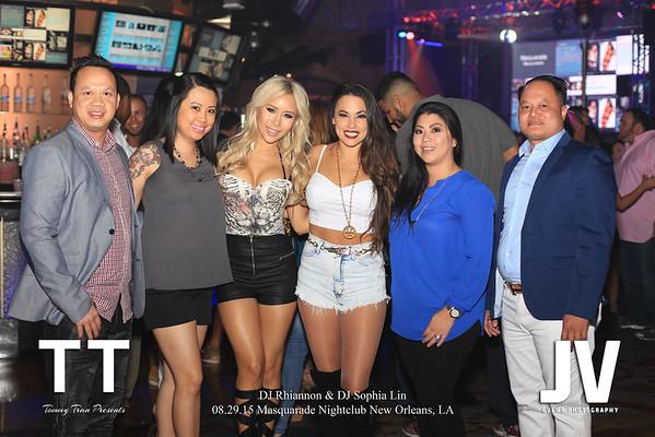 DJ Rhiannon & Sophia Lin Masquarade Nightclub 8.29.15