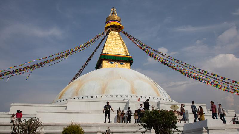 Buddist Temple - Kathmandu
