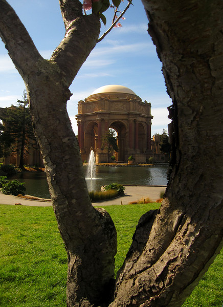 Palace of Fine Arts April 2011